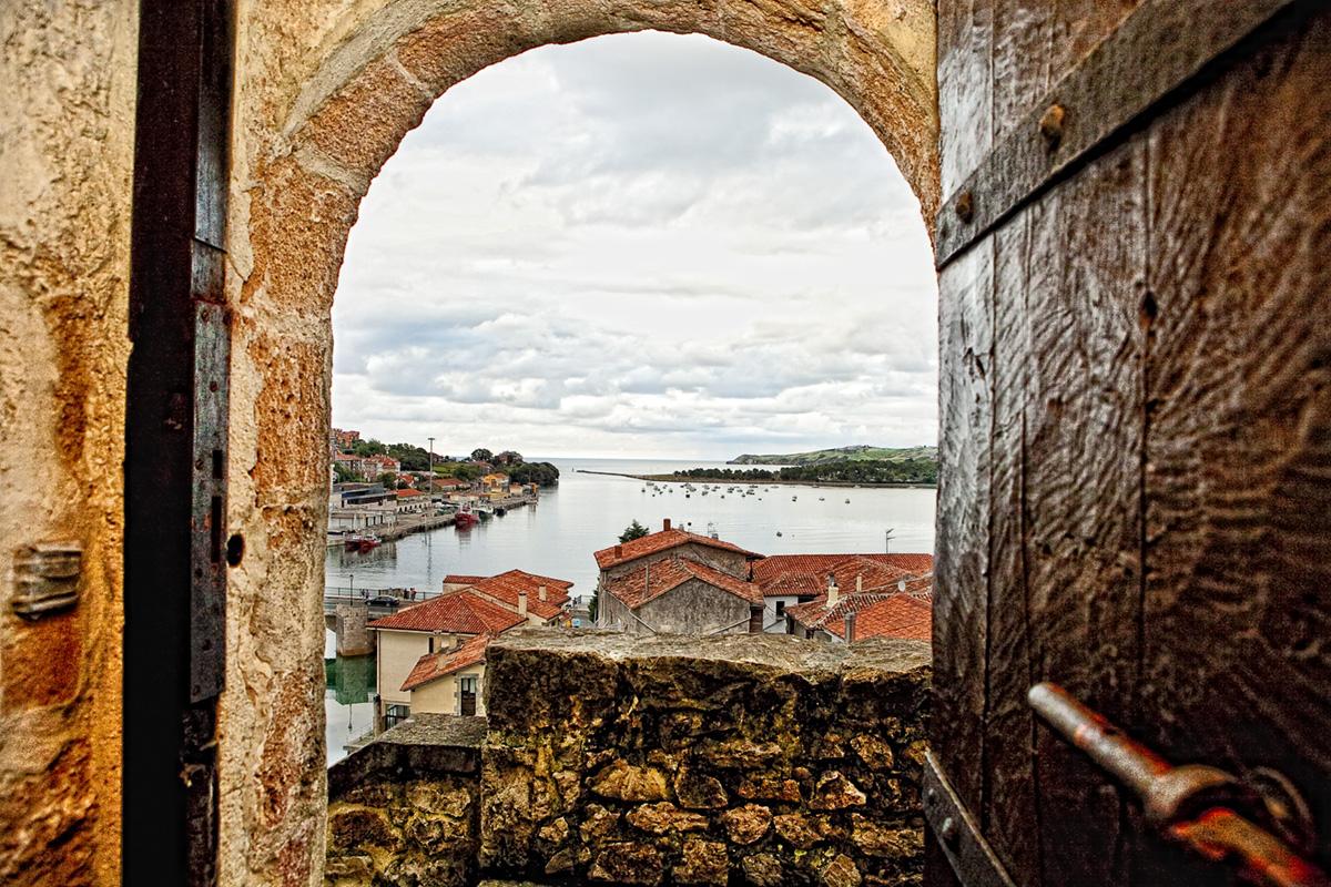 Castillo puerta